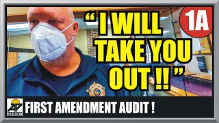 TOUGH GUY SHERIFF LEARNS THE HARD WAY!! Luverne Minnesota  First Amendment Audit  Amagansett Press