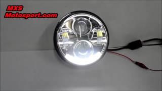 V692 Daymaker Projector Headlight Harley Davidson by Mxsmotosport