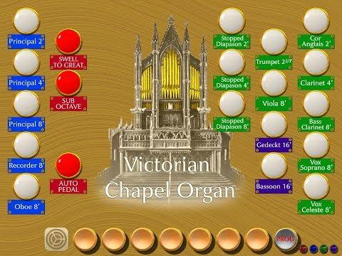 Victorian Chapel Organ - A Classic English Church Organ for your iPad or iPhone