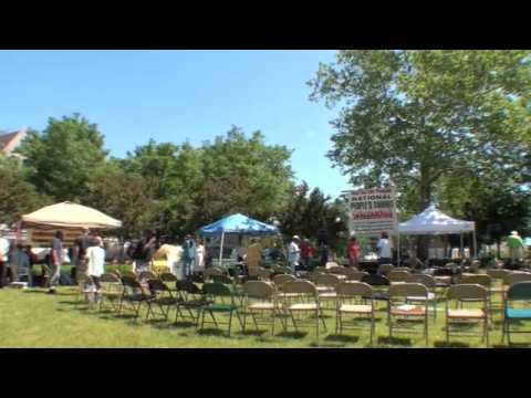 Tent City Detroit Interview 1 part 2 - foreclosure, economy, jobs, People's Summit