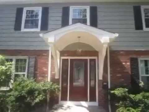 Portico Designs & Front Porches in Bergen County NJ 201 345 7628 how to  build a portico portico plan - YouTube