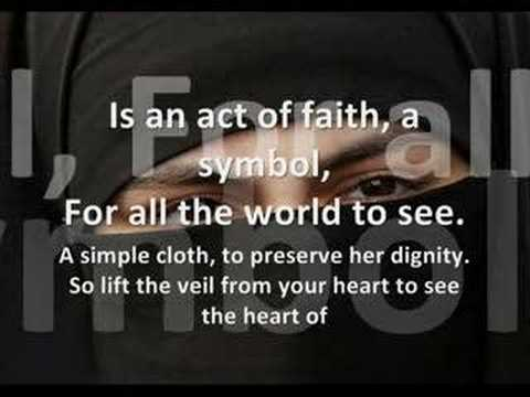 The Veil by Dawud Wharnsby Ali (With Lyrics) - YouTube