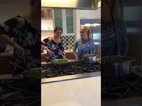 Cooking with Barilla and Mikaela Shiffrin!
