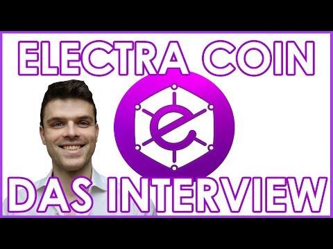 INTERVIEW Electra Coin | Kryptowährungen 2018