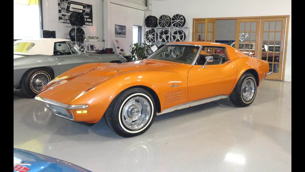 1972 chevrolet chevy corvette 454 engine in ontario orange paint my car story with lou costabile