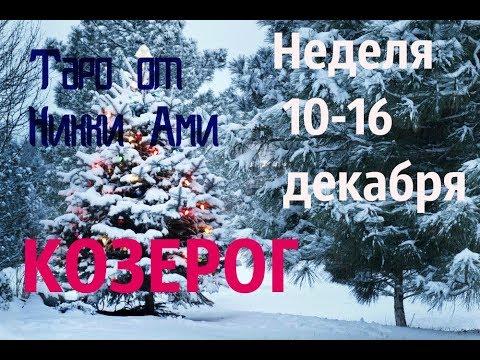 ♑ Козерог 10-16 декабря. Таро неделя. Кармический прогноз от Никки Ами #никкиами #гадания #nykkyami