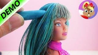 Ogromna zmiana Barbie - Barbie farbuje włosy - Baw się ze mną