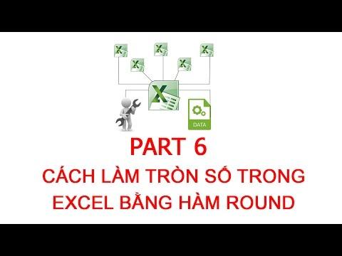 [Thủ thuật excel ] Bài 6 – Cách làm tròn số trong excel bằng hàm ROUND
