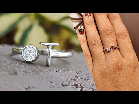 0.24-ct-round-colorless-moissanite-personalized-engagement-ring-|-customized-ring