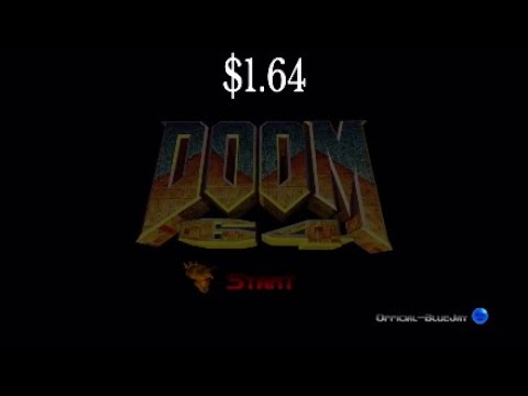 I played Doom 64...cause why not? |