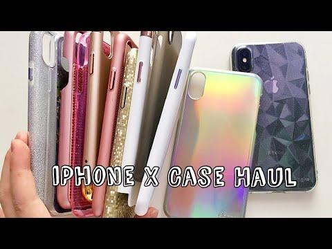 IPhone X Cases Haul