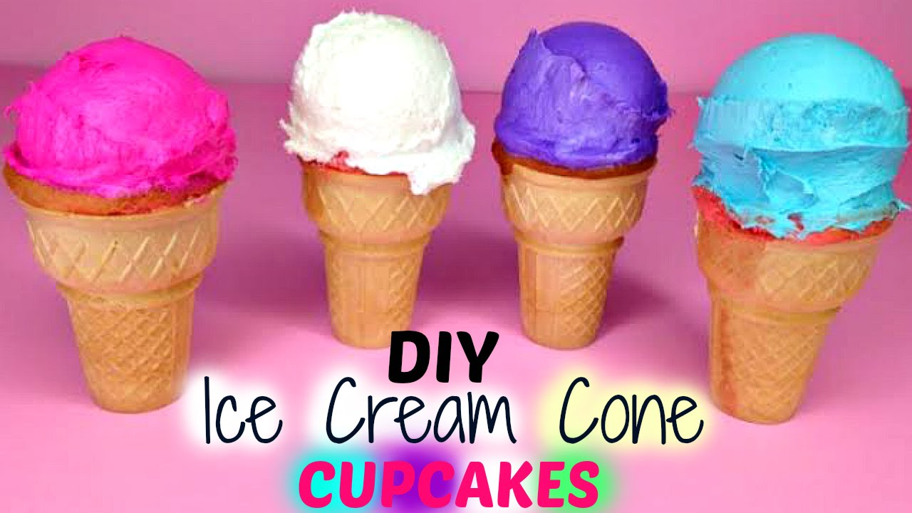 How To Make Ice Cream Cone Cakes Videos
