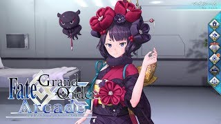【Fate/Grand Order Arcade】葛飾北斎 マイルーム、召喚、霊基再臨【Katsushika Hokusai】【Foreigner】【FGOAC】【FGOアーケード】