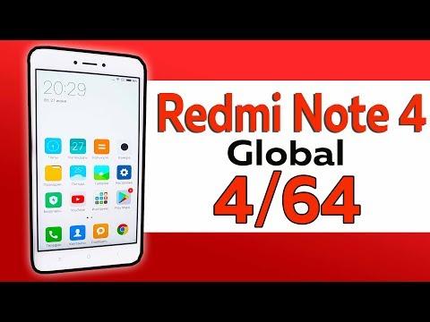 САМЫЙ ЛУЧШИЙ Xiaomi Redmi Note 4 4/64 Global - ТОПОВАЯ ВЕРСИЯ!