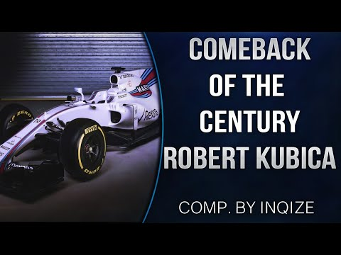 Robert Kubica - Comeback of The Century - Coming Home 2019 | #StrongerThanBefore | #ForzaKubica