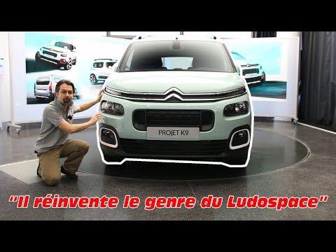 Citroën Berlingo 3 (2018) : présentation du nouveau Ludospace Citroën