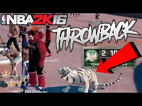 LEGEND 5 TIGER RETURNS TO NBA 2K16 AND TAKES OVER MYPARK!! INSANE THROWBACK WITH HG POWER!