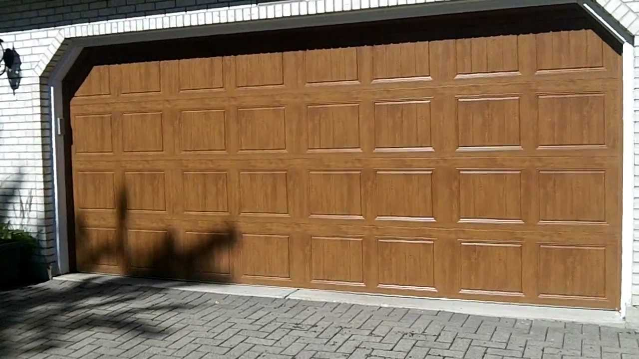 Clopay Gallery Garage Doors Ultra Grain Youtube