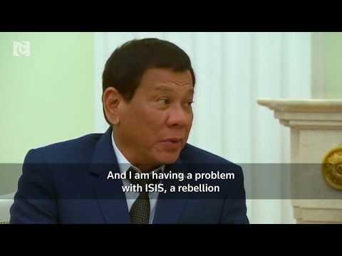 Philippines declares martial law on Mindanao island