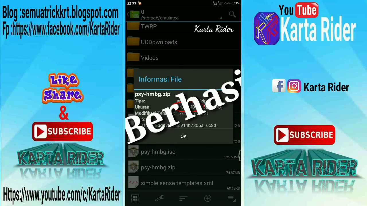 Cara Compress File Besar Jadi Kecil Di Android How To Compress From Big File So Small In Android Youtube
