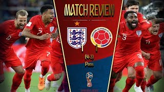ENGLAND JUST WON A PENALTY SHOOT OUT! || England vs Colombia 1-1 (4-3 pens)Tactical Analysis Review