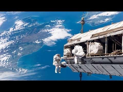 GoPro Footage From U.S. EVA #30 Space station walk