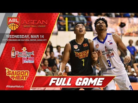San Miguel Alab Pilipinas vs Saigon Heat | FULL GAME | 2017-2018 ASEAN Basketball Club