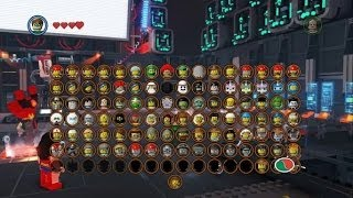The LEGO Movie Videogame - All Purchasable Character Locations