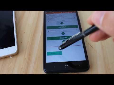 Trucos para firmar sin tocar la pantalla - COVID-19 - App Partes de trabajo, órdenes de trabajo