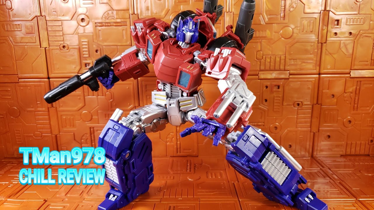 MMC Reformatted R48 Optus Pexus 3rd Party Optimus Prime CHILL REVIEW