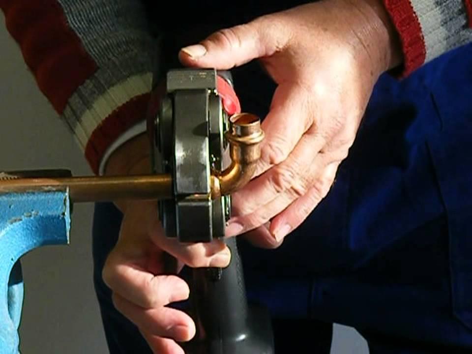 Frantools Presszange U//V-Kontur Rohrpresszange f/ür PEX-//Kupfer-//Verbundrohr U16-32 V15-28