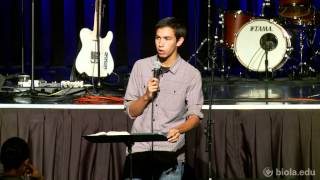 Steven Morrow: Community of Grace - Biola University After Dark Chapel