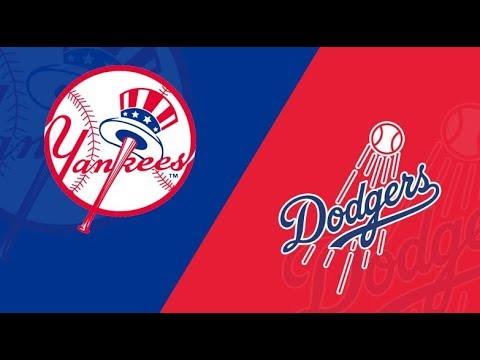 Game 132 Yankees vs Dodgers GM 3 FAN LIVE STREAM 08/25/19