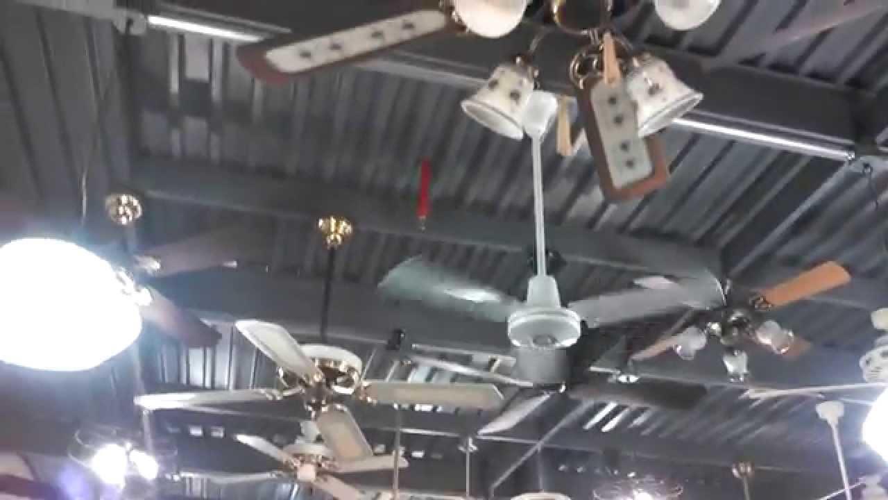 Leading Edge u0026quot;Ring Fanu0026quot; Hi Tech II 36 Industrial/Commercial Ceiling Fan - YouTube