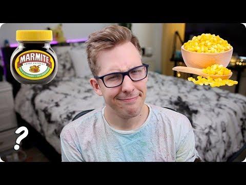 Marmite, Sweetcorn, and Weird British Stuff | Ask Evan