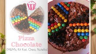 Video: Pizza Chocolate (m&m's, Oreo, Kit Kat, Nutella)