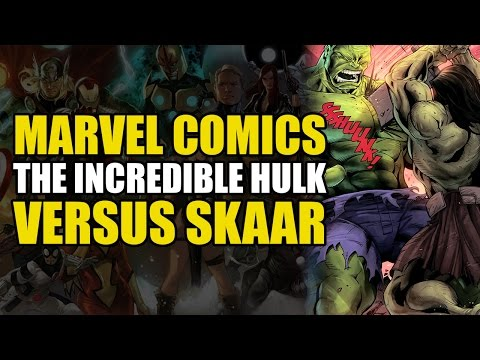 The Hulk Fights His Son (Skaar: Son Of Hulk Vol 3: Sins of The Father)