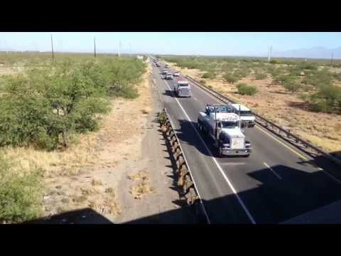 Don Steele funeral procession
