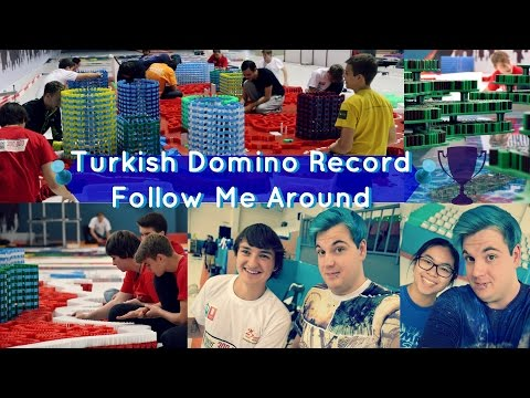 Turkish Domino Record | Follow Me Around