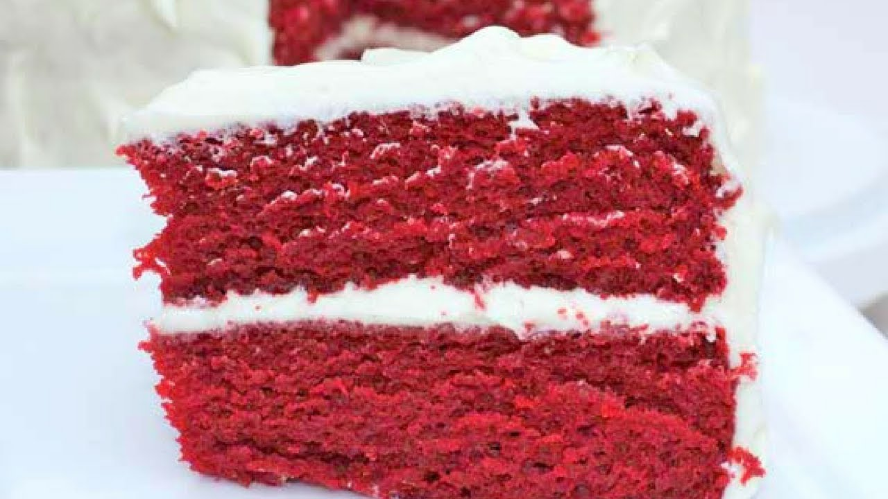 Easy Homemade Red Velvet Cake Recipe The Best YouTube
