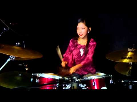 Bibir Mesra Jiwa Parah Drum Cover by Nur Amira Syahira
