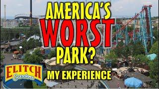 Worst Park in America? My Experience at Elitch Gardens - Denver, Colorado