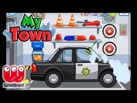 My Town: Police 🚓  Super Police Car App Game Gameplay Free Download Android | WildBrain Toy Club