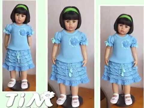 Очень красивые вязаные платья для девочек от TiM. Beautiful сrochet dresses for girls