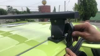 (車頂架安裝影片詳解)  SIENTA 車頂架 置物架 TBR置物架 攜車架 置放架 橫桿 TOYOTA