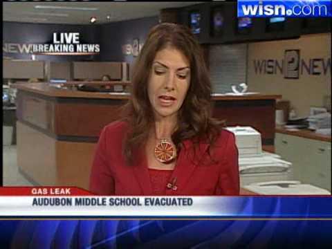 Gas Leak Forces Evacuation Of Audubon Middle School