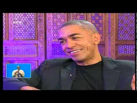 Jeff Koinange live With US President Barak Obama's brother Mr. Mark Okoth Obama part 1