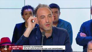"""Raphaël Glucksmann : """"Il faut qu'on arrête en France d'envoyer des losers à Bruxelles !"""""""