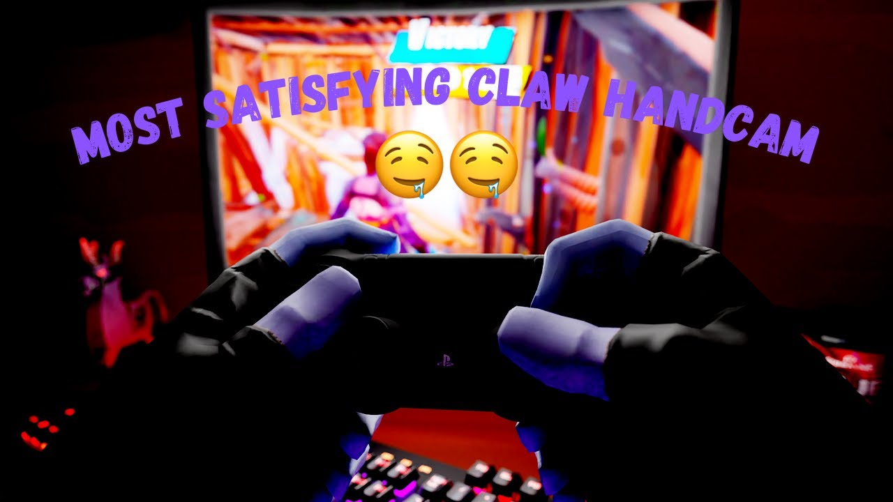 THE FASTEST *CONTROLLER* HAND CAM!🎮🤩 | CLAW HANDCAM