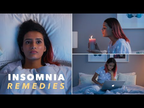 Insomnia Remedies For When You Can't Sleep